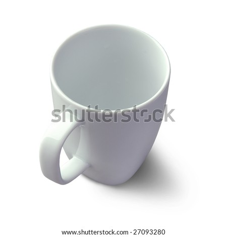 mug isolated on a white