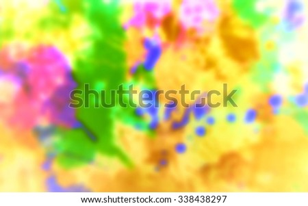 Multicolored blurred abstract vintage background