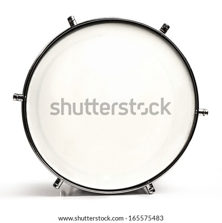 Snare Drum Top View Isolated On Stock Photo 42506581 ...