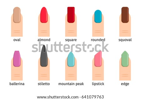 how to change nail shape