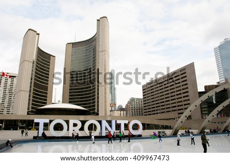 Nathan Phillips Square - Toronto - Canada
