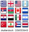 National Flags - stock vector