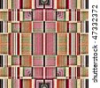 Native american traditional decorative tribal pattern design background - stock photo