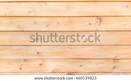 Natural pine tree planks.