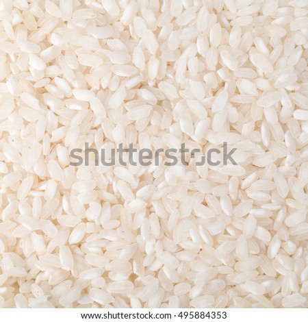 Natural rice Background, uncooked raw cereals