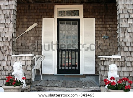 Nautical Front Porch in St. Augustine,FL