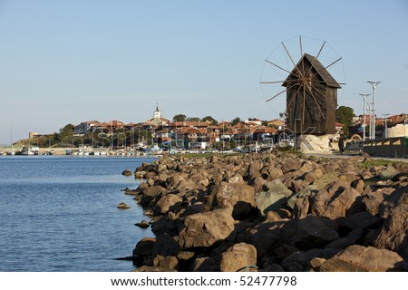 "Nesebar is an ancient city and a major seaside resort on the Black Sea coast of Bulgaria. Often referred to as the ""Pearl of the Black Sea"" and ""Bulgaria's Dubrovnik."