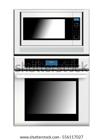 New Double Oven isolated