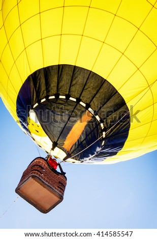 new hot air balloon - photo