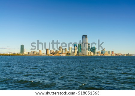 NEW JERSEY, USA - OCT 23: Cityscape of New Jersey on Oct 23, 2016 in New Jersey, USA.