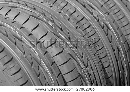 New tire texture