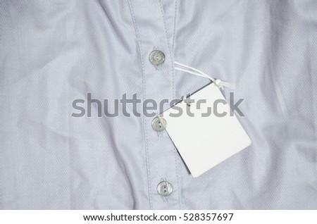 New white shirt with stripes
