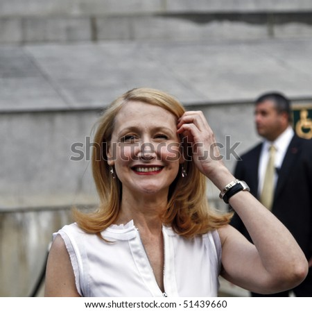 NEW YORK - APRIL 20: Actress Patricia Clarkson attends the Vanity Fair party for the 2010 Tribeca Film Festival at the New York State Supreme Court on Tuesday, April 20, 2010 in New York.