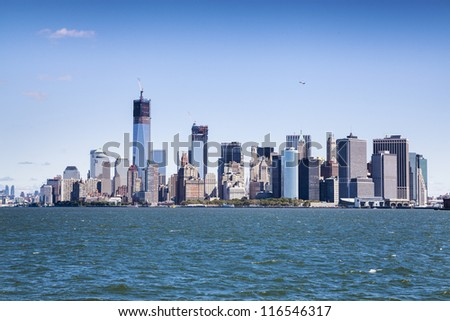New York City - Manhattan from ferry