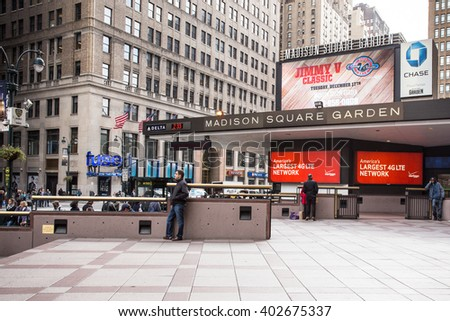 Ravishing New York City Sept  Entrance Stock Photo   Shutterstock With Marvelous New York City  October   Exterior View Of Madison Square Garden In With Nice Garden Clock Thermometer Also Garden Tea Light Lanterns In Addition How To Keep Cats Off Your Garden And Garden Rooms Attached To House As Well As Country Gardens Royston Additionally Rose Gardens Hereford From Shutterstockcom With   Marvelous New York City Sept  Entrance Stock Photo   Shutterstock With Nice New York City  October   Exterior View Of Madison Square Garden In And Ravishing Garden Clock Thermometer Also Garden Tea Light Lanterns In Addition How To Keep Cats Off Your Garden From Shutterstockcom