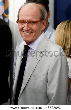 "NEW YORK-JUNE 25: Actor Richard Jenkins attends the domestic premiere of ""White House Down"" at the Ziegfeld Theatre on June 25, 2013 in New York City."