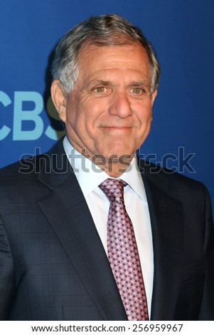 NEW YORK - MAY 14, 2014: Leslie Moonves attends the 2014 CBS Upfront at Lincoln Center on May 14, 2014 in New York City.