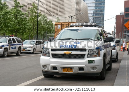 new york city may 2015 nypd stock photo 287337812 shutterstock. Black Bedroom Furniture Sets. Home Design Ideas