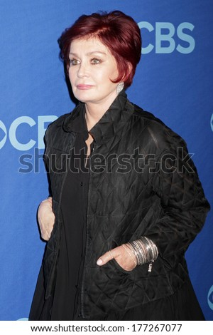 NEW YORK - MAY 15: Sharon Osbourne attends the 2013 CBS Upfront at Lincoln Center on May 15, 2013 in New York City.