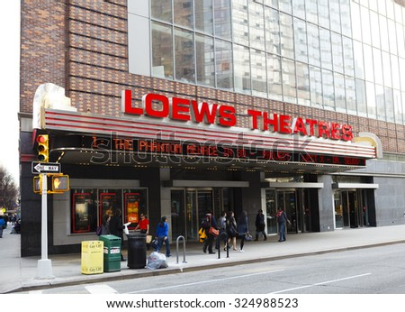 Loew's th Street Theatre, Manhattan (opened ) - Operates as a church and an entertainment venue under the name United Palace Theater. Loew's Jersey Theatre, Jersey City (opened ) - Operates as a classic cinema and performing arts center.