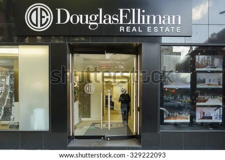 New york new york usa october stock photo 329222093 for Douglas elliman real estate manhattan