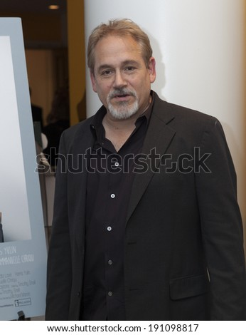 New York, NY - May 05, 2014: Director Michael Maren attends screening of 'A short history of decay' at Crosby hotel