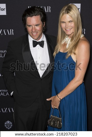 NEW YORK, NY - SEPTEMBER 05 2014: Kate Schelte and Chris Schumacher attend the Harper's Bazaar ICONS Celebration at The Plaza Hotel