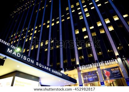New york ny usa march 12 stock photo 397505149 shutterstock - Luxury hotels near madison square garden ...