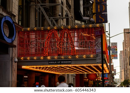 New york usa sep 22 2015 stock photo 605437022 shutterstock for Cocktail 42nd street