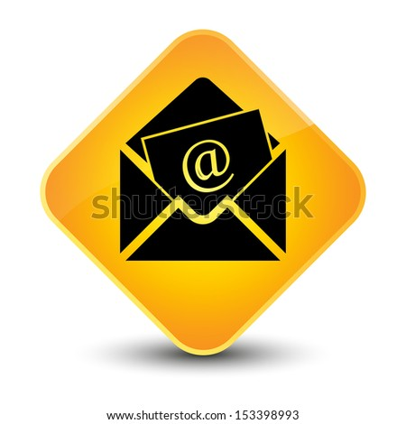 Newsletter icon yellow button