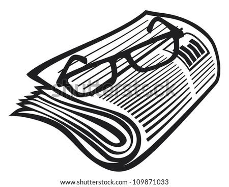 Vector Newspaper Icon 71564602