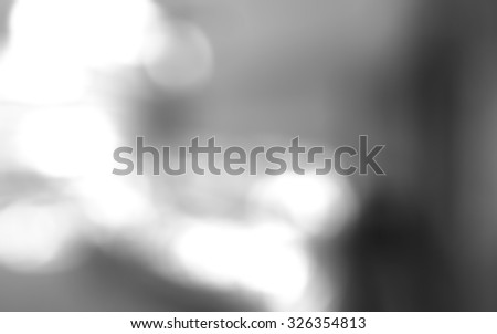 Nice grayscale of blurred background. Black and white background.