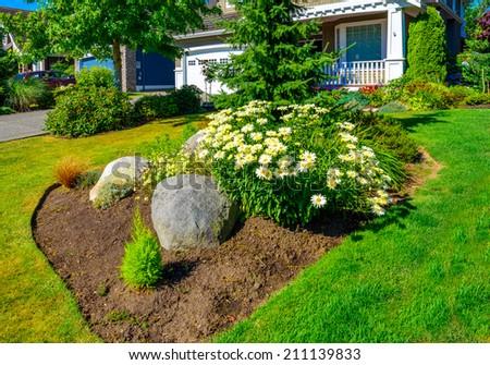 house lawn design
