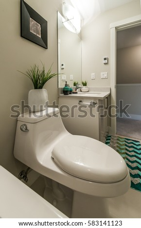 Fragment luxury bathroom stock photo 249225883 shutterstock - Nicely decorated bathrooms ...