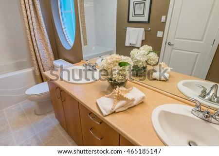Https Www Shutterstock Com Image Photo White Dressing Table Modern Bedroom 60684199