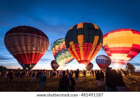 1418 Feb 2017 International Balloons Fiesta Stock Photo ...