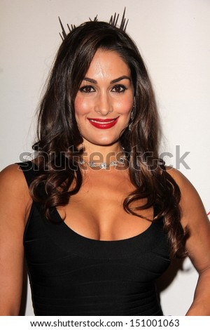 Nikki Bella at Superstars for Hope honoring Make-A-Wish, Beverly Hills Hotel, Beverly Hills, CA 08-15-13