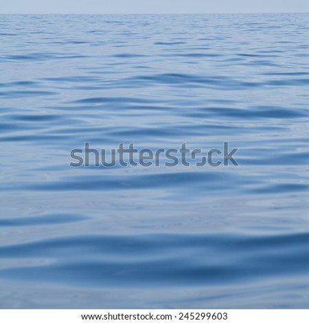 North sea, travel to Ireland with fisherman. Sea surface. Water undermines land, high elevations. Seascape. Turquoise blue water. Holidays, background, nobody.