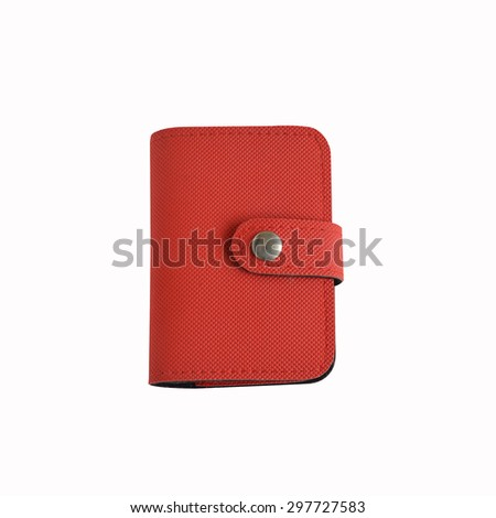 Notebook on the white background