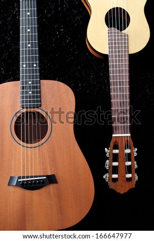 guitars row store background stock photo 559162672 shutterstock. Black Bedroom Furniture Sets. Home Design Ideas