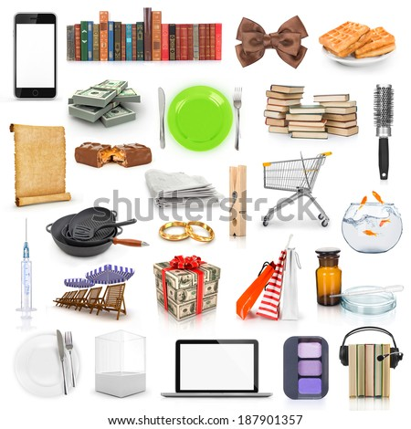Cartoon Painting Tools Clipart Color Stock Vector 53408995