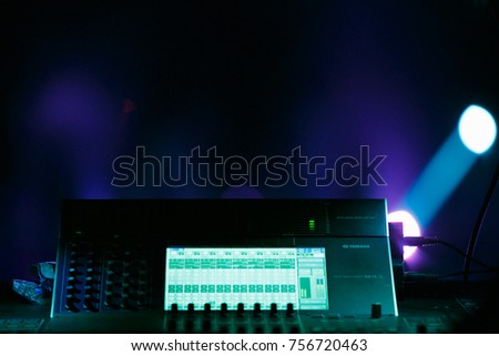 ODESSAUKRAINE-1 AUGUST2017Stage lights controller.Professional lighting controller & Moscow 12 February2017 Professional Concert Lighting Stock Photo ... azcodes.com