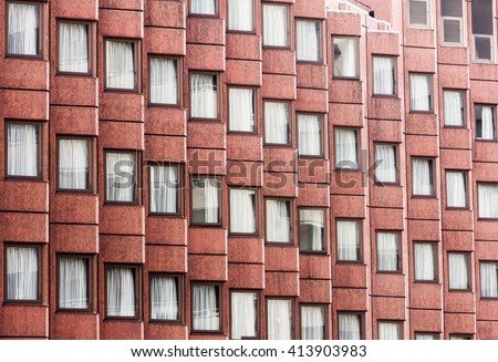 Airbrick brick brickwall texture wall pattern stock photo 288542954 shutterstock - Building river stone walls with mortar sobriety and elegance ...