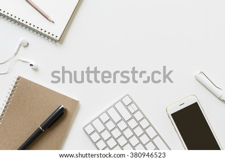 glass top office table philippines desktop accessories stock photo view vector
