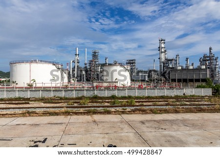 Oil Industry Refinery factory , Petroleum, petrochemical plant