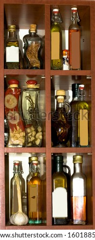 Oils in the kitchen