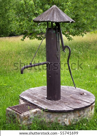 Creating Old Fashioned Water Pump