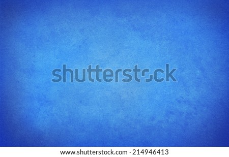 old blue paper background with vignette