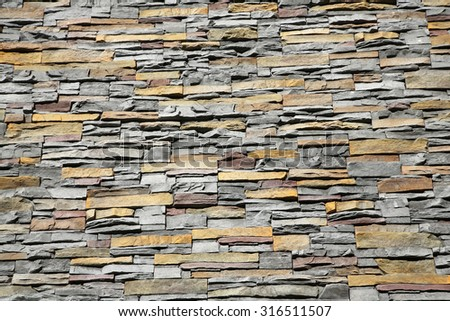 Old Brown Bricks Wall background