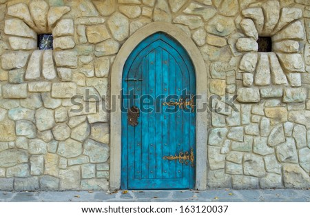 Church doorway Stock Photos, Illustrations, and Vector Art